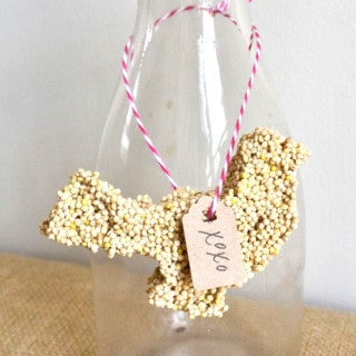 birdseed favors {or valentines!}