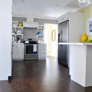 how to choose flooring {wood vs tile vs cork}
