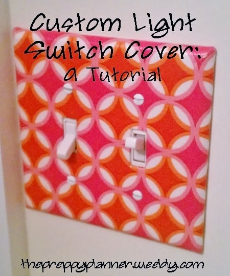 custom lightswitch cover