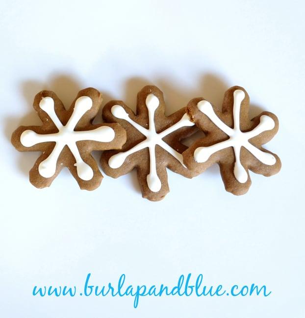 gingerbread snowflakes recipe
