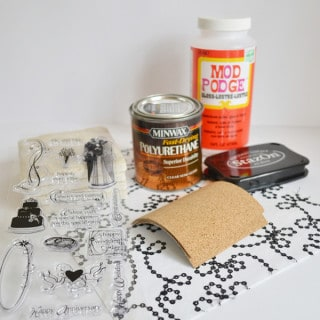 mod podge rocks coasters 0001