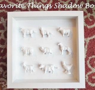 favorite things shadowbox {a tutorial}