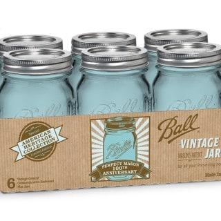 turquoise mason jars on amazon