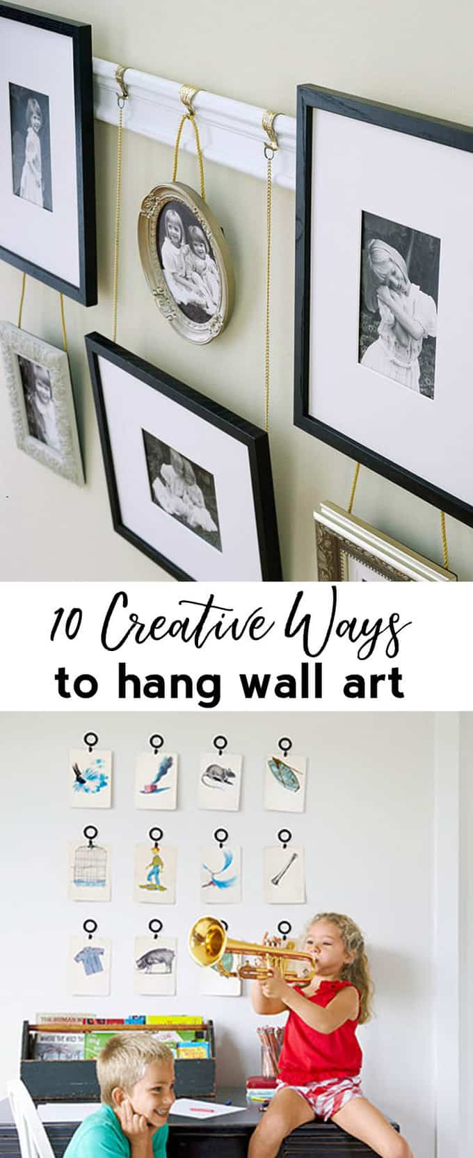 ways to hang artw