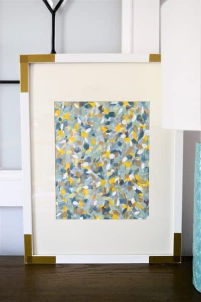 easy abstract art canvas