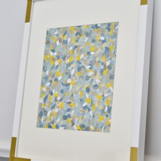 easy abstract art {a tutorial}