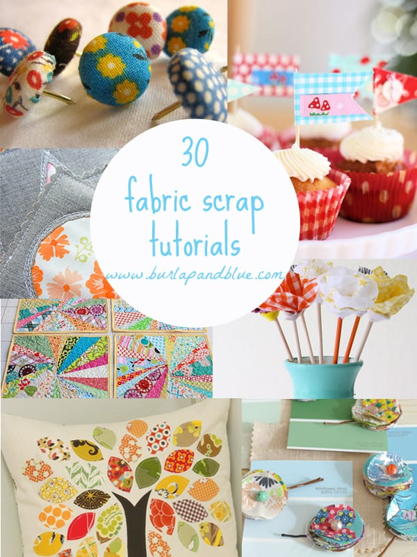 fabric scrap crafts