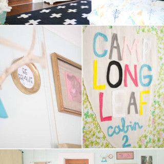 room tour {shared bedroom inspiration}