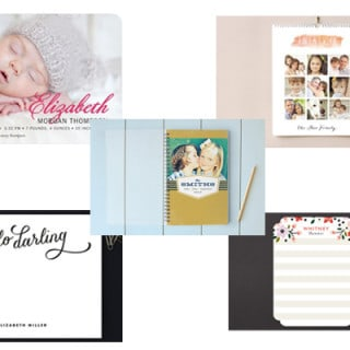 people I heart + a giveaway {minted}