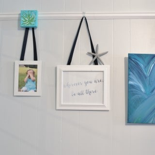 picture rail wall {updated!}