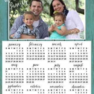 2015 personalized calendars {new in the shop!}