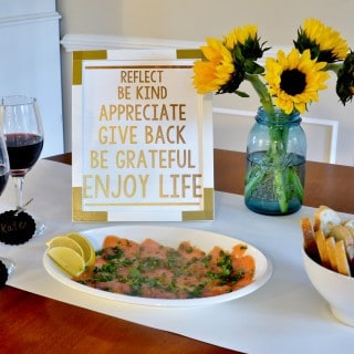 throw a wine tasting party with kenwood vineyards {and free printable}