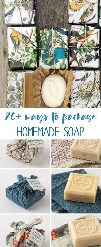 soap packaging | easy ways to package homemade soap