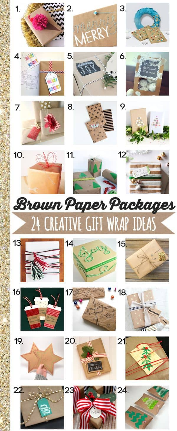 gift wrap ideas