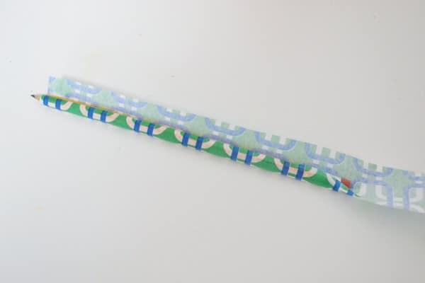 how to mod podge pencils