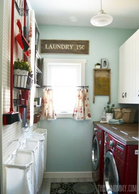 laundry room makeover 1