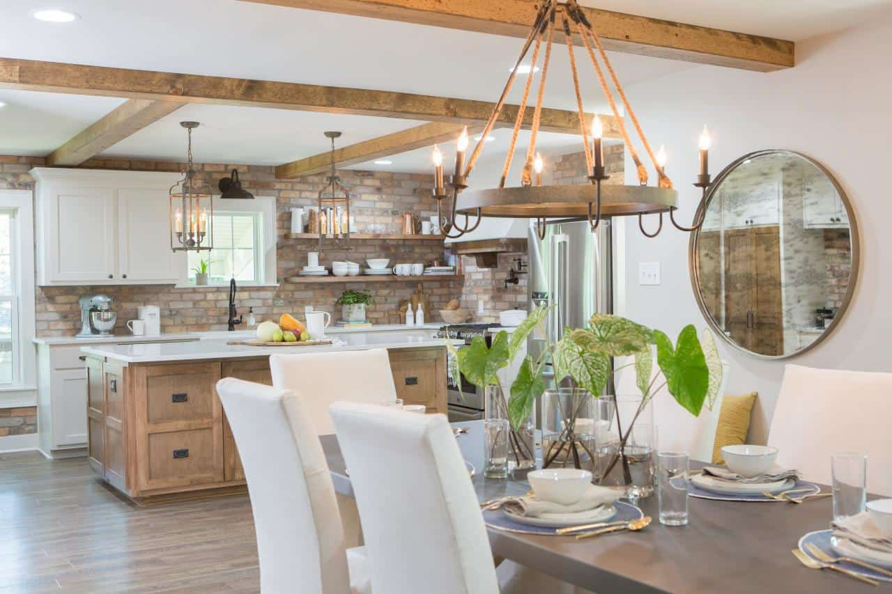 Kitchen And Dining Rooms Wood Ceilings