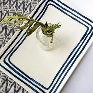 anthropologie inspired platter