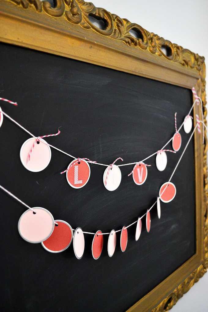 valentines day garland 6