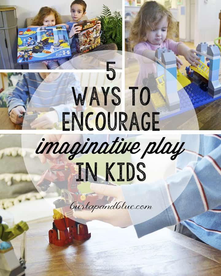 encouraging imaginative play