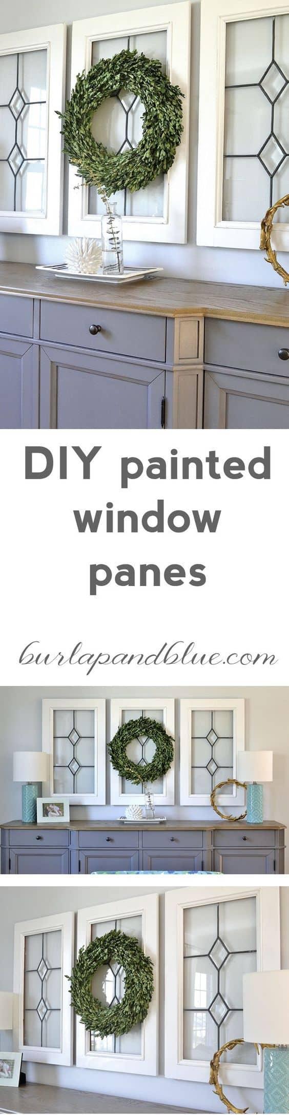 vintage window panes