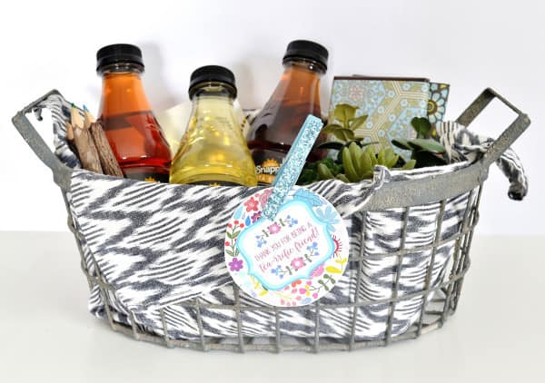 No Matter The Occasion A Birthday Thank You Congratulations Or Just Because Youre Wonderful Todays Post Is All About My New Favorite Tea Gift Basket