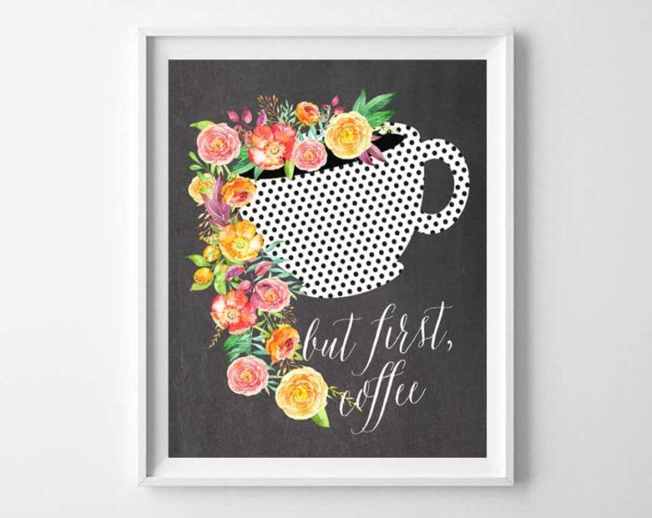 Free Coffee Printable