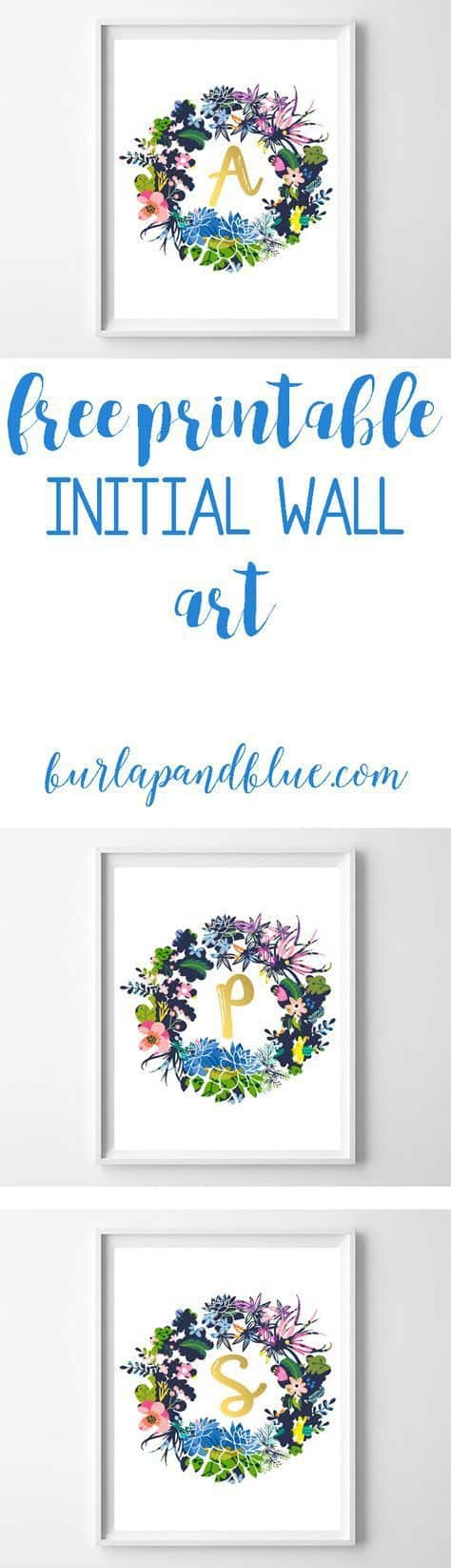 wreath name art