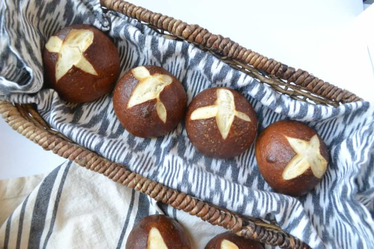 pretzel roll recipe