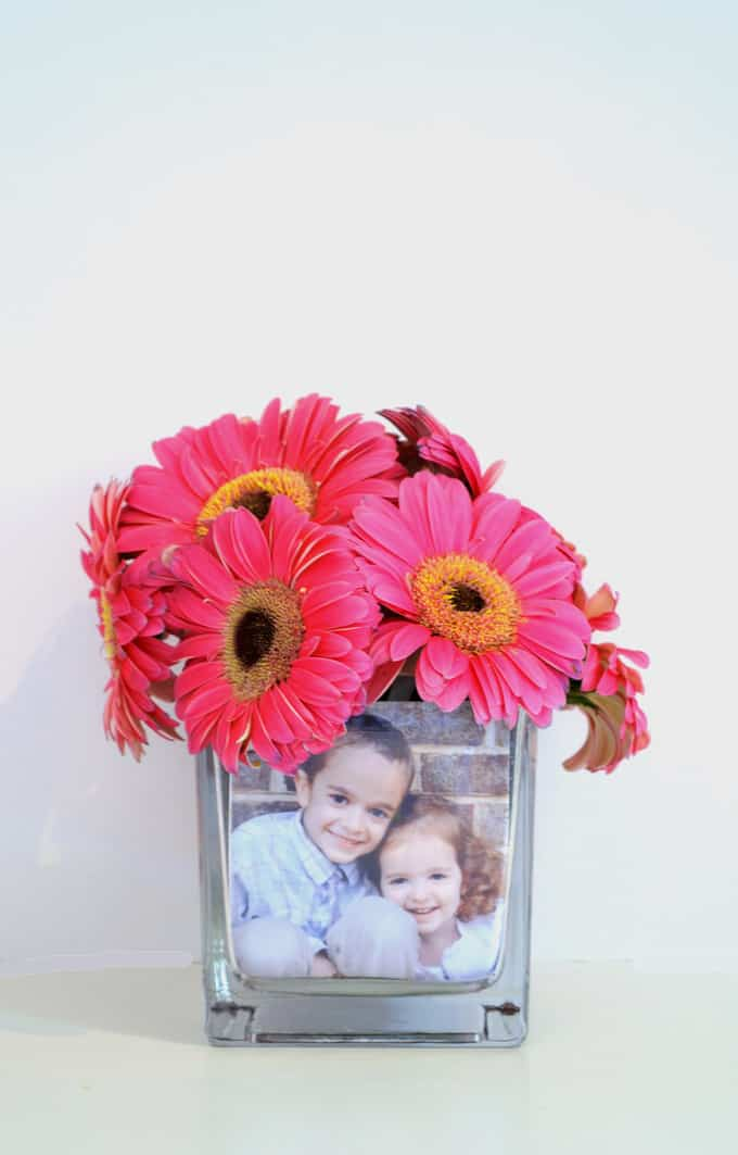 Mothers Day Ideas Make A Photo Vase