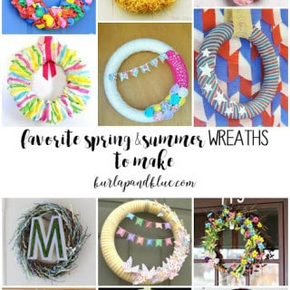 spring and summer wreaths to make