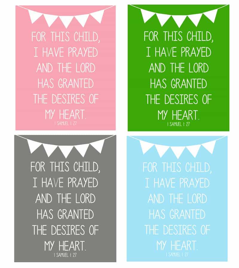 prayer for baby 1