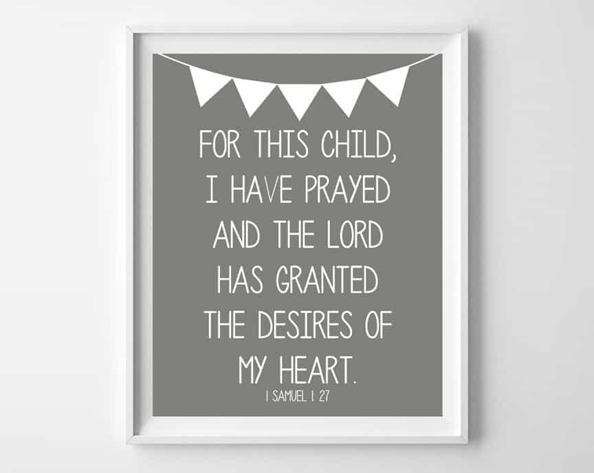 prayer for baby 3
