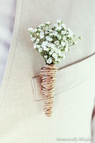 DIY-Wedding-Boutonnieres