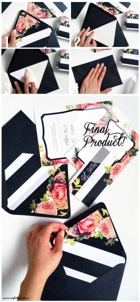 DIY-Wedding-Invitation-Envelope-Liners