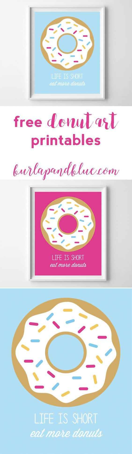 graphic relating to Donut Printable named Donut Printables