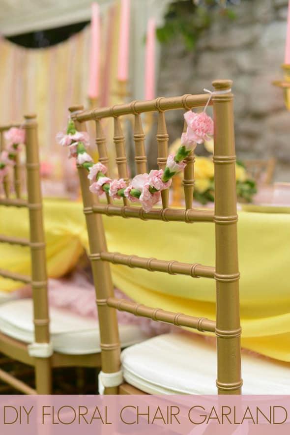 50 diy wedding crafts tutorials diy chair decor main junglespirit Gallery