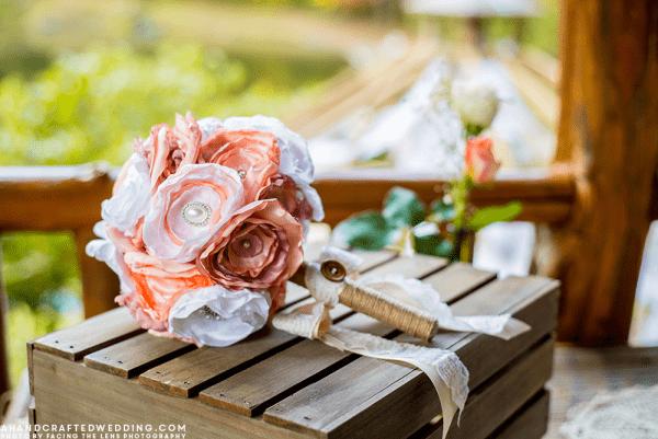 diy-fabric-wedding-bouquet-rustic-chic-cabin-wedding-ahandcraftedwedding