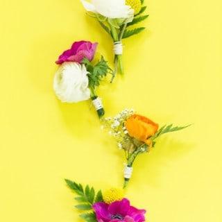 50 diy wedding crafts & tutorials
