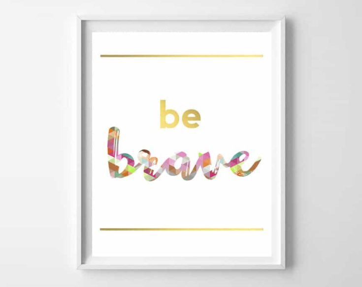 Free Inspirational Printables {6 designs}