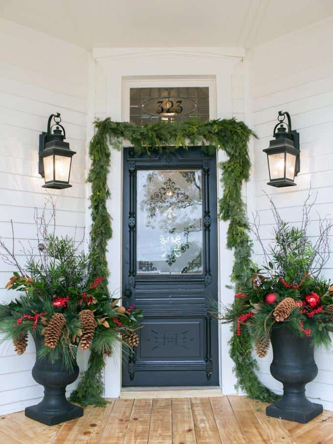Farmhouse Christmas Decor 2