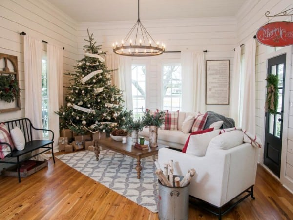 Fixer upper christmas decor inspiration for A host and hostess for the bed breakfast