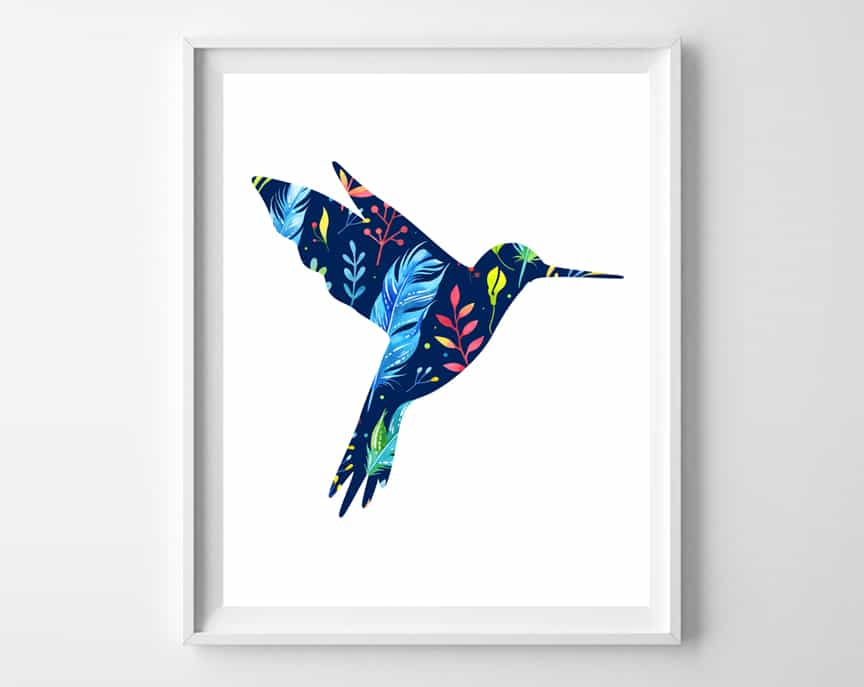 hummingbird art 2