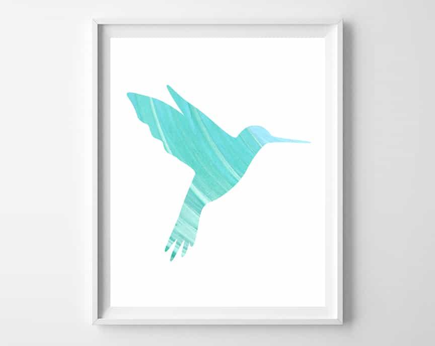 hummingbird art 3