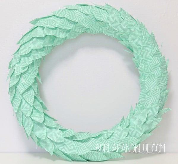 diy duct tape wreath