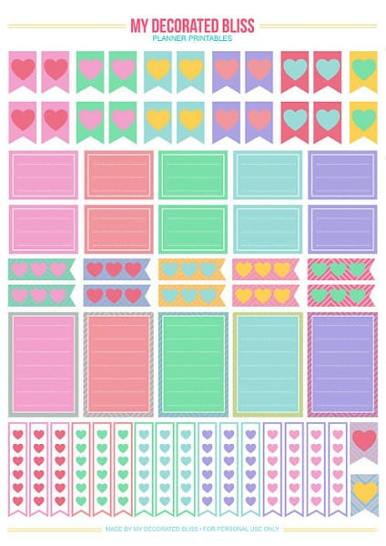 Free happy planner printables organize your life in the for To do planner online