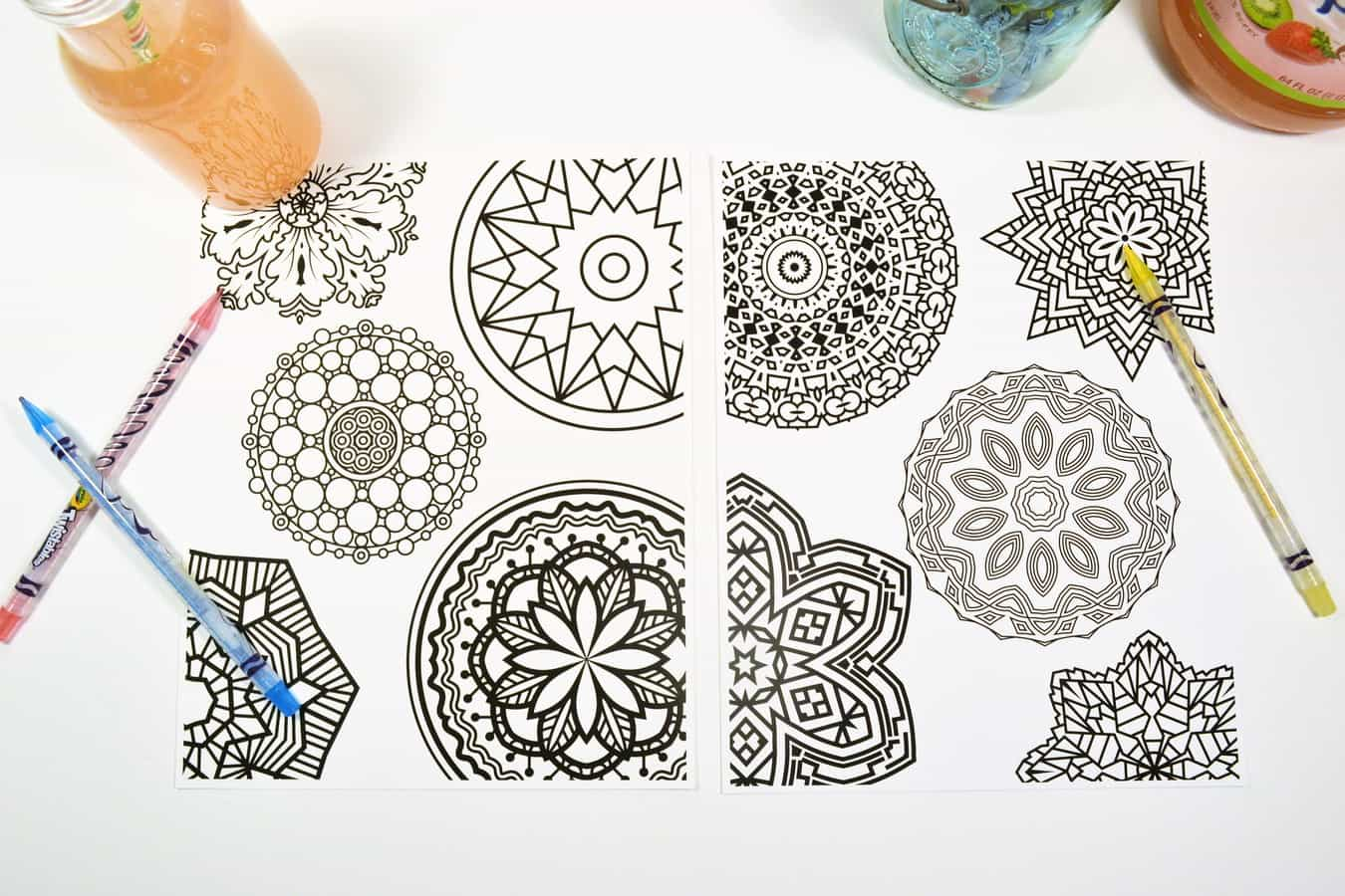 Mandala Coloring Pages 7