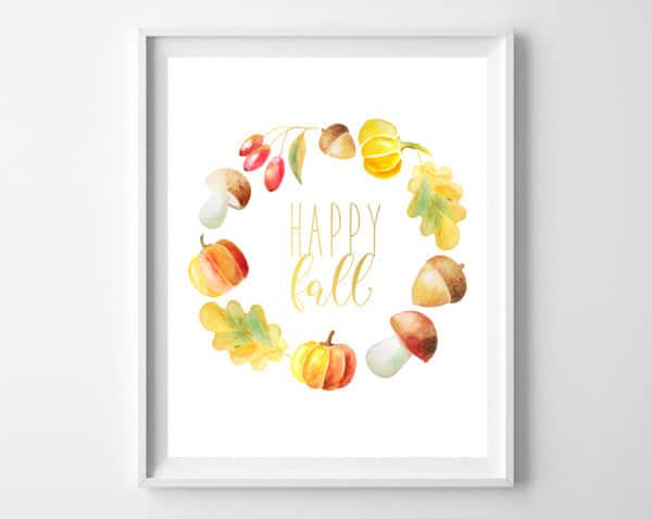 fall wall art