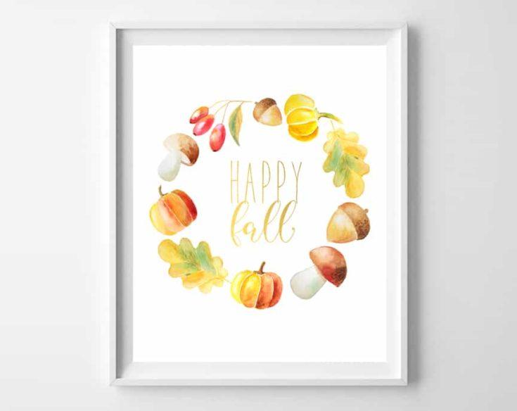 Fall Printable Art