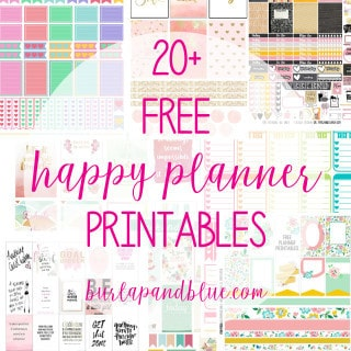 photograph relating to Happy Planner Printable identify Weekly Planner Printables Absolutely free for Your Delighted Planner